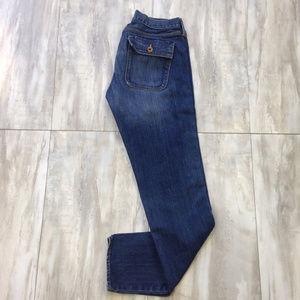 """Madewell """"Boot Legger"""" Flap Pocket Jeans 28"""